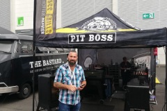 Spoga+gafa 2019 Pit Boss stand