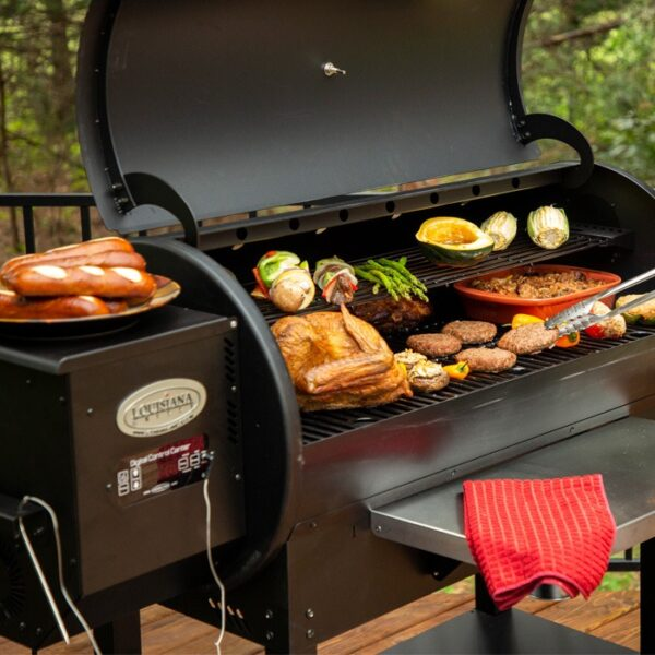 louisiana 1100 pellet grill okosgrill