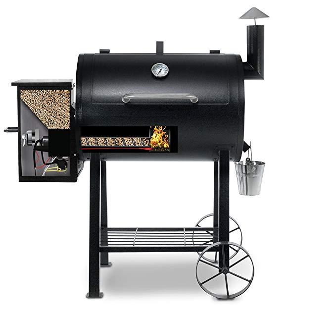pit boss 820fb pellet grill okosgrill adagoló