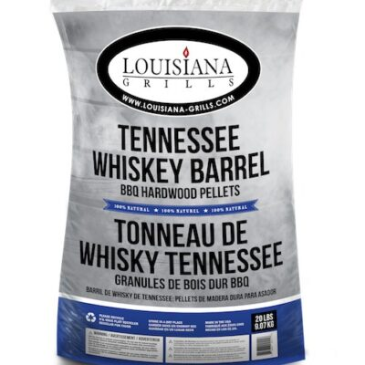 Louisiana whiskey hordó fapellet okosgrill