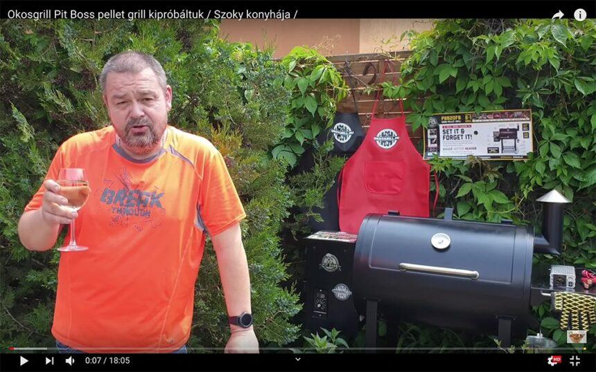 Okosgrill részletes bemutató (videó)