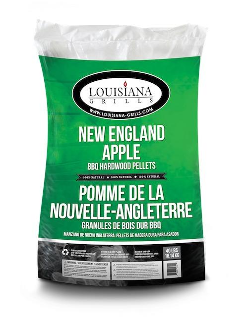 Louisiana almás fa pellet okosgrill