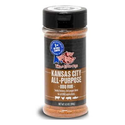 three little pigs bbq kansas-city univerzalis bbq rub fűszerkeverék 184g okosgrill