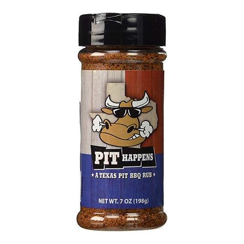 pit happens texas pit bbq rub fűszerkeverék 198g