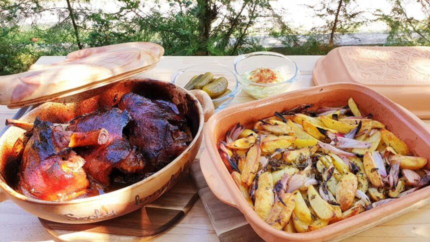 Lecsós libacomb grill recept by Szoky konyhája