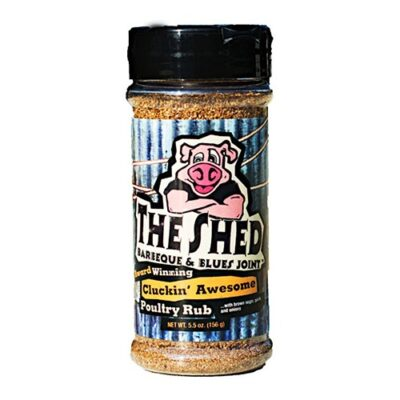 the shed cluckin awesome poultry rub fűszerkeverék 156g okosgrill