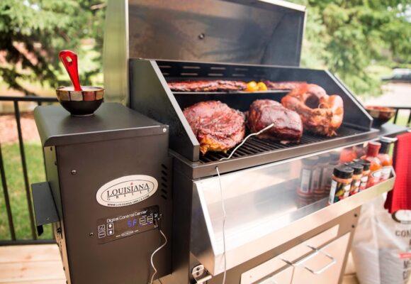 Louisiana 800 Elite BBQ- és grillsütő – Masszív és elegáns, bárki számára!