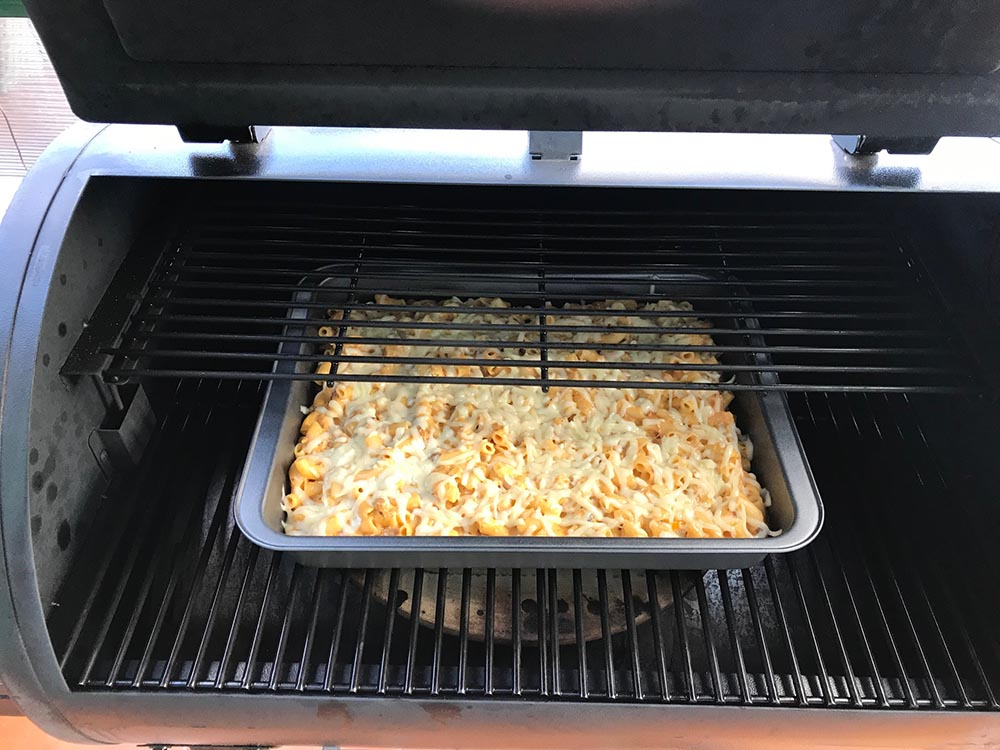 Pulled pork mac&cheese by JD's BBQ