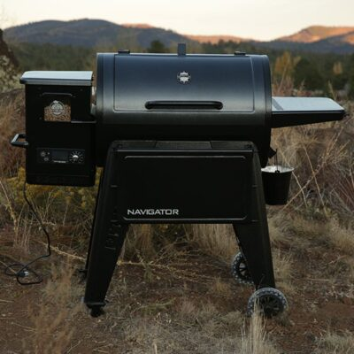 pit boss navigator 850 pellet grillsütő okosgrill