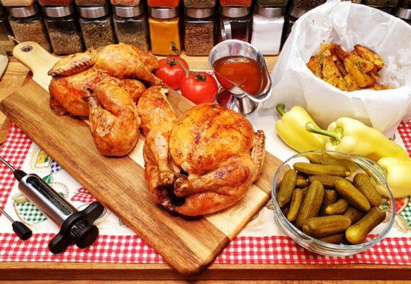 Szoky konyhája: szaftos grillcsirke injektálva