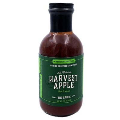 American Stockyard Harvest Apple BBQ Sauce szósz okosgrill