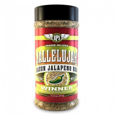 Big Poppa Smokers Jallelujah Bacon Jalapeno Rub fűszerkeverék okosgrill