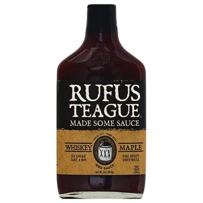Rufus Teague Whiskey Maple Sauce okosgrill