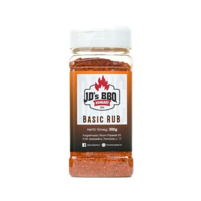 JDs bbq barbecue fűszerkeverék Basic rub okosgrill