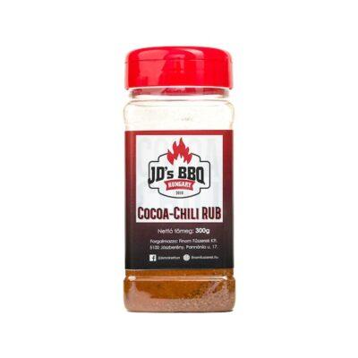 JDs bbq barbecue fűszerkeverék coca chilli rub okosgrill