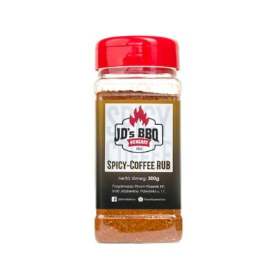 JDs bbq barbecue fűszerkeverék spicy coffe rub okosgrill