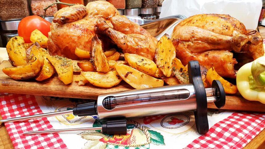 Injektált grillcsirke – Szoky konyhája