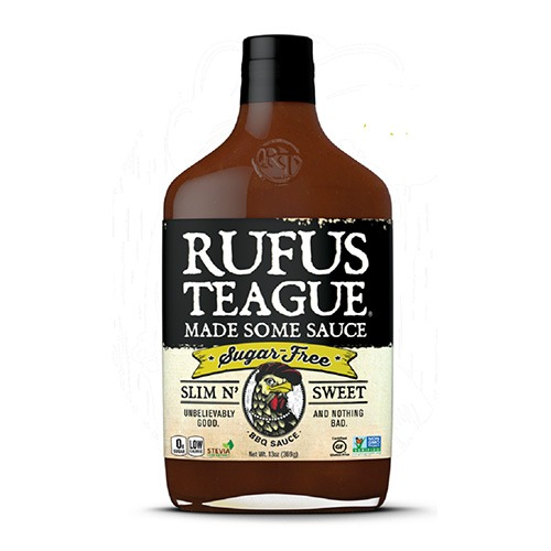 Rufus Teague Slim N Sweet cukormentes BBQ szósz okosgrill