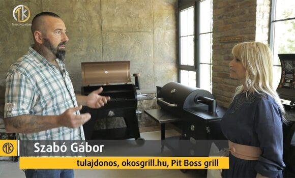 Okosgrill, pellet grillsütő bemutató – Trendközelben Viasat3