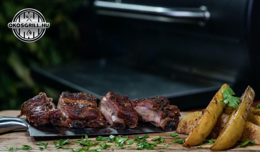 BBQ oldalas fűszeres burgonyával – Fald fel! #receptek