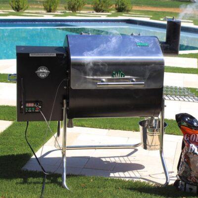 green mountain grills davy crockett pellet grillsütő okosgrill