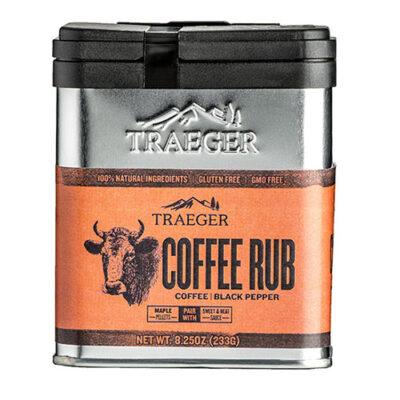 traeger coffee rub okosgrill