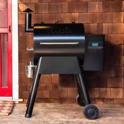 traeger pro 575 pellet grill okosgrill