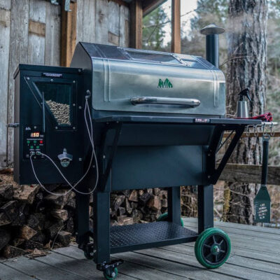 green mountain grills daniel boone inox pellet grill okosgrill