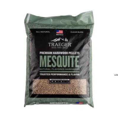 traeger mesquite pellet okosgrill